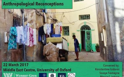 "Wenner-Gren Workshop  – ""Arab Masculinities: Anthropological Reconceptions"""